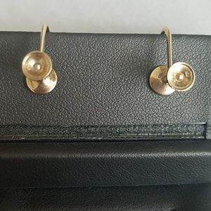 Mikimoto Jewelry - Mikimoto 14K Gold w/ 9mm Pearl Earrings